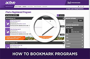 How to Bookmark Programs