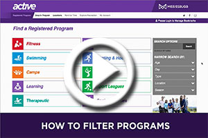 How to Filter Programs