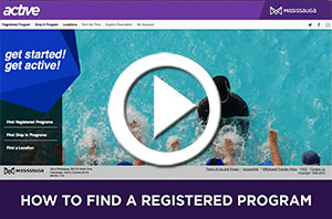 How to Find a Registered Program